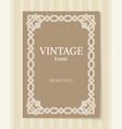 Vintage frame retro style ornamental graphic decor