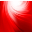 Abstract swirl red design EPS 8 vector image vector image