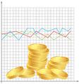 financial schedule vector image