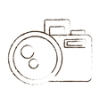 sketch draw photo camera picture image icon vector image