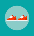 sports shoes icon vector image