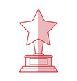 star award design vector image vector image