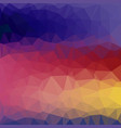 abstract background - colorful geometrical shapes vector image