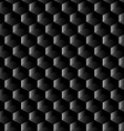 Black graphite mesh seamless pattern vector image vector image
