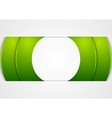 Bright green abstract corporate background vector image vector image