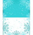 Christmas template light blue and white