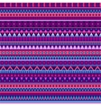 Ethnic various strips motifs vector image