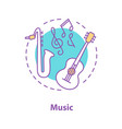 music concept icon vector image