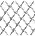 Steel Fence vector image