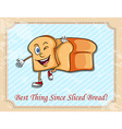 Best thing since sliced bread vector image