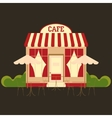 Cafe cafeteria vector image