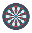 dartboard for darts game vector image vector image