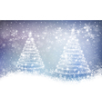 Magic christmas background vector image vector image