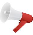 megaphone isolated flat web mobile icon vector image