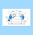 multi-tasking business concept vector image vector image