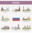 Russia vector image vector image