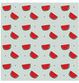 watermelon dots pattern gray background ima vector image vector image