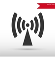 Antenna radio icon vector image