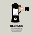 Blender Home Appliance vector image vector image