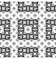 design seamless monochrome geometrical pattern vector image