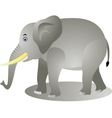 elephant cartoon vector image vector image