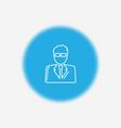 man icon sign symbol vector image vector image