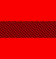 red carbon abstract header vector image vector image