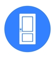 Door icon of for web and vector image