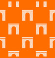 arch pattern seamless vector image vector image