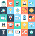 Business Concepts Icons 6 vector image vector image