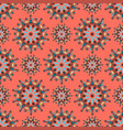 circle ornament pattern vector image
