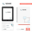 computer networks business logo tab app diary pvc vector image vector image