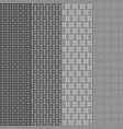 created vintage style of grey shape pattern vector image