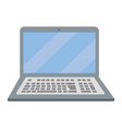 laptop icon cartoon vector image