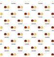 macadamia pattern seamless vector image vector image