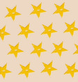 pattern decorative star background vector image