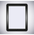 realistic computer tablet Eps10 vector image vector image