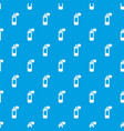 spray paint pattern seamless blue vector image vector image