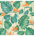 blossom flowers for seamless pattern background vector image