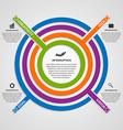 circle colorful infographic