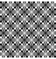 Design seamless monochrome patter vector image