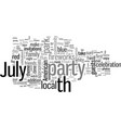 how to make your th july party a success story vector image vector image