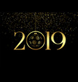 premium happy new year 2019 background vector image