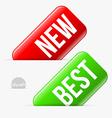 Shop labels vector image vector image