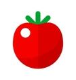 Tomato flat icon vector image vector image