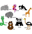 Wildlife Animals vector image