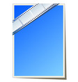 blank photo or video template vector image