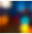 Grunge City Lights vector image