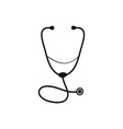 Medical Stethoscope icon vector image