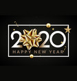 2020 new year happy eve party background vector image vector image